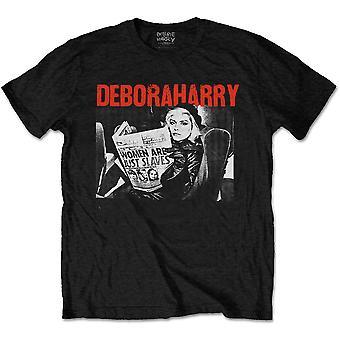 Debbie Harry - Women Are Just Slaves Men's XX-Large T-Shirt - Black