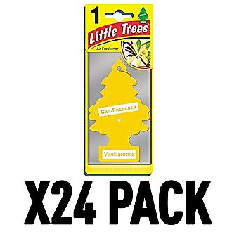 Vanillaroma (Pack Of 24) Little Trees Air Freshener
