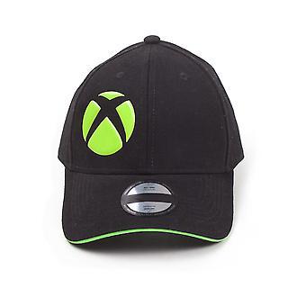 Microsoft - Logo Unisex Justerbar Cap Cap - Svart/Grønn