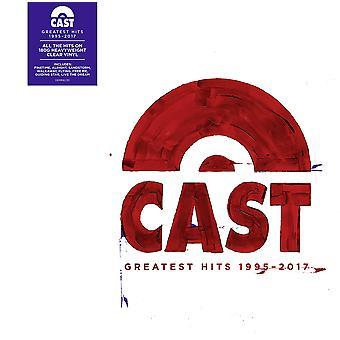 Cast - Greatest Hits 1995 - 2017 Coloured  Vinyl