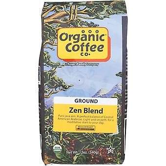 Bio-Kaffee Co Kaffee Grnd Zen Blend Org, Fall von 6 X 12 Oz