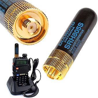 new dual band uhf vhf srh805s sma female antenna sm45530