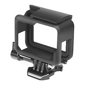 2 kpl suojakehyskotelo GoPro Hero 6 5 7 musta toimintakamera reunan kansi kotelon kiinnitys