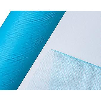 SISTE FÅ - 25m Turkis 15cm Net Tulle på rull for håndverk
