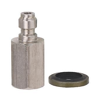 8mm 1/8 NPT Acier inoxydable Raccords pneumatiques Push Fittings Connecteur Argent