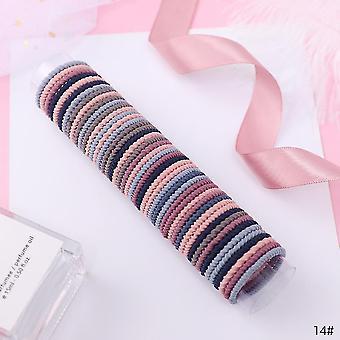 Farebné elastické vlasové pásiky / dievčatá