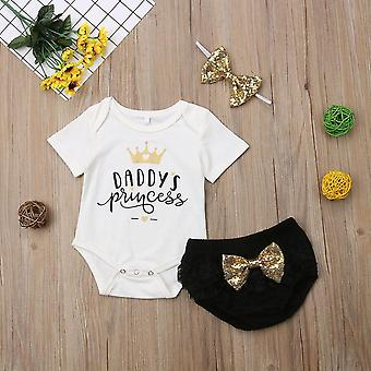 Söpö vastasyntynyt vauvan asut vaatteet toppaat body shortsit housut setti