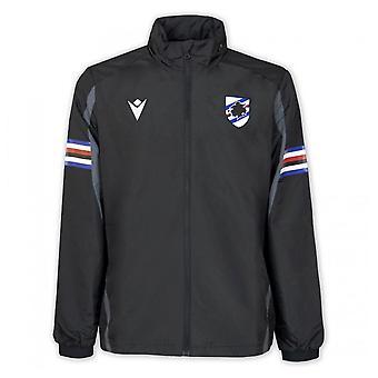 2021-2022 Sampdoria Duschjacka (Svart)