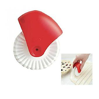 Pizza Pastry Wheel Pie Pastry Cutter Diy Dough Cutting Tools Lattice Rolling Cutter Decoration Baking Tools Kitchen Gadgets 1pcs