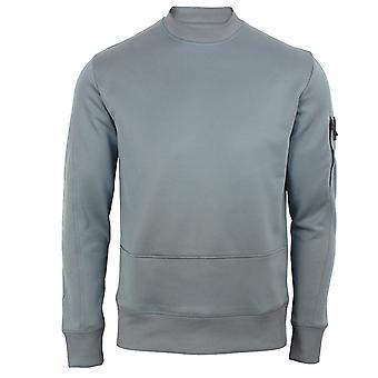 Lyle & scott men's mid flat grey tricot sweatshirt