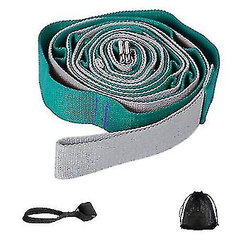 Exercise bands yoga assisted elastic band exercise stretch belt dance training tension band green