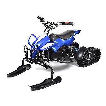Snowmobile Blue, Smart Balance, Power 24v 350w, Top Speed 15km/h, Charge Time 5-6h