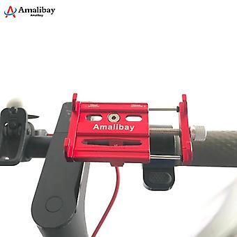 Einstellbare Anti-Rutsch-Scooter Telefon Ständer Halter für Xiaomi M365 Pro Elektroroller Mi Scooter Pro 2 Max G30 für Dualtron