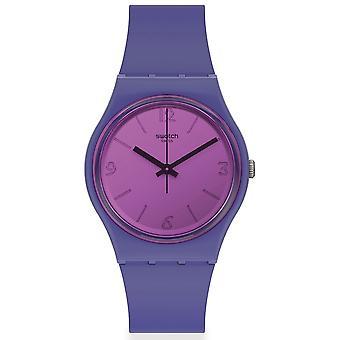 Reloj Swatch So28n102 Mood Boost Purple Silicone