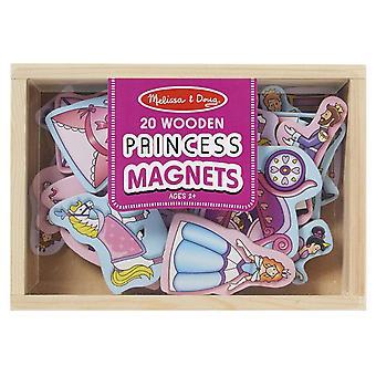 Melissa & Doug magnetische houten prinses