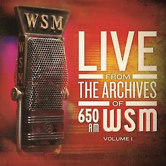 650 Am Wsm Live From the Archives Volume - 650 Am Wsm Live From the Archives Volume [CD] USA import