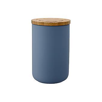Ladelle Stak myk Matt mørke blå Canister, 17cm