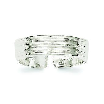 925 Sterling Gümüş Katı Cilalı Toe Yüzük Takı Takı Hediyeler Kadınlar için - 2.0 Gram