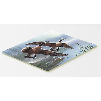 Carolines Treasures  PTW2054CMT Geese on the Wing Kitchen or Bath Mat 20x30