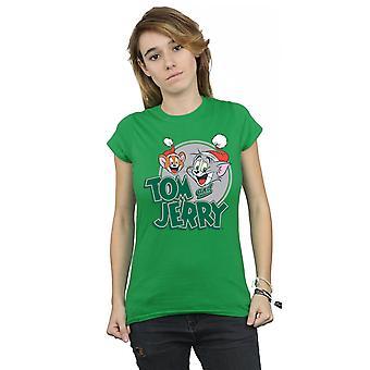 Tom och Jerry kvinnors jul hälsningar T-Shirt