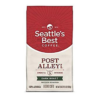Seattle's Best Coffee Post Alley Smoky & Intense Dark Roast Ground Coffee