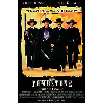 Tombstone elokuvajuliste (11 x 17)