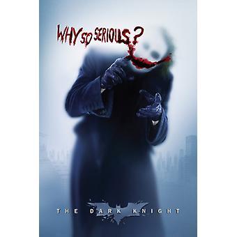 Joker, por qué imprimir tan grave cartel imprimir Poster cartel