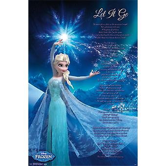Frozen - Elsa Let It Go Poster Print