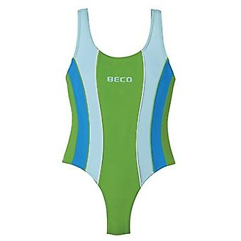 BECO Girls Racerback Swimsuit - Green