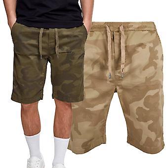 Urban classics - tratto da jogging Chino Bermuda shorts camo