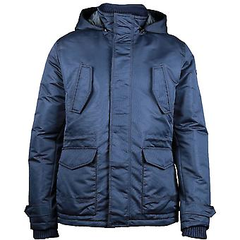 Caterpillar Mens Utica Water Resistant Hooded Casual Jacket Coat