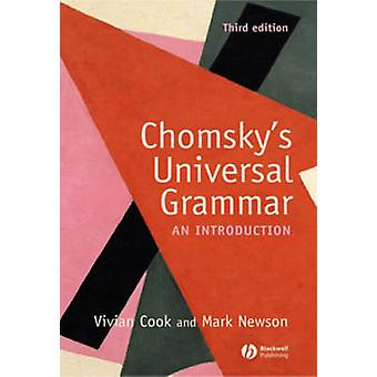 Chomskys Universal Grammar von Vivian J Cook