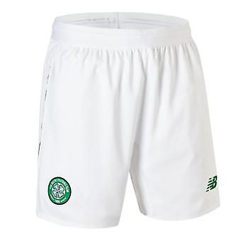 2018-2019 Celtic hem Shorts (vit)