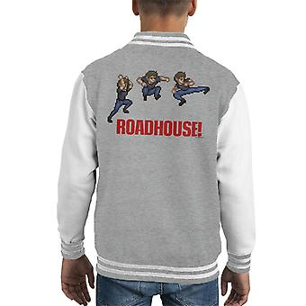 Road House Pixel High Kick Kid's Varsity Jacket