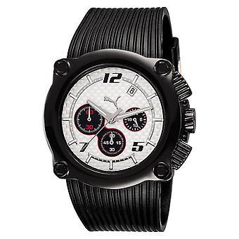 PUMA montre bracelet Chrono rotor de silicone unisexe blanc PU101551001