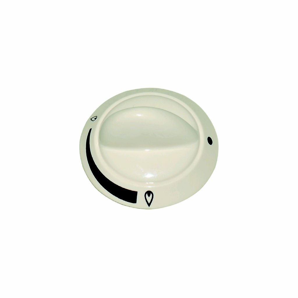 Knob Control Cream Hob/grill