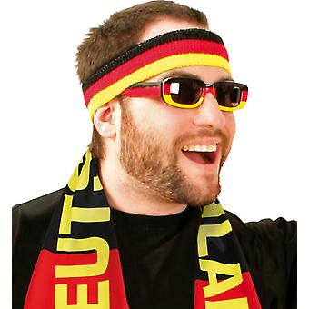 Bril fan soccer World Cup Germany Duitsland prank accessoire