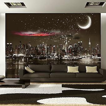 Fototapete - Starry Night Over NY