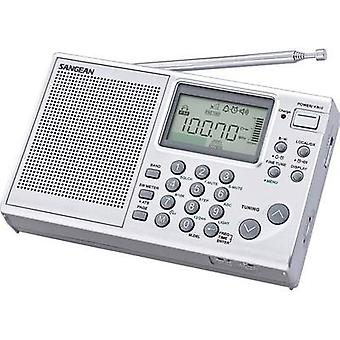 Sangean ATS-405 Package Shortwave receiver FM, AM, SW Battery charger Silver