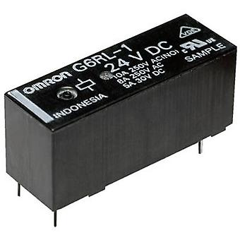 Omron G6RL-14-ASI 5 VDC PCB relay 5 V DC 10 A 1 change-over 1 pc(s)