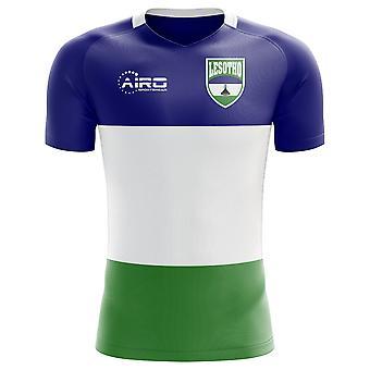 2020-2021 Lesotho Home Concept Voetbalshirt