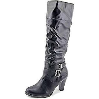 Estilo & do co Womens josemar fechado Toe sobre moda botas joelho