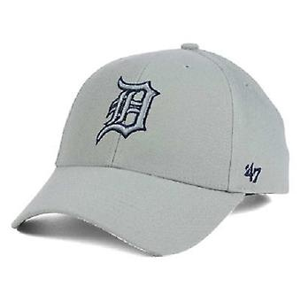 Detroit Tigers MLB 47 Brand Gray Pop Adjustable Hat
