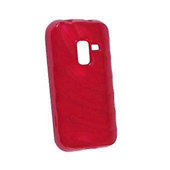Ventev Ripples Dura-Gel Case for Samsung SPH-D600 (Red)