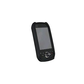 WirelessXGroup Textured Silicone Sleeve for Motorola i1 - Black