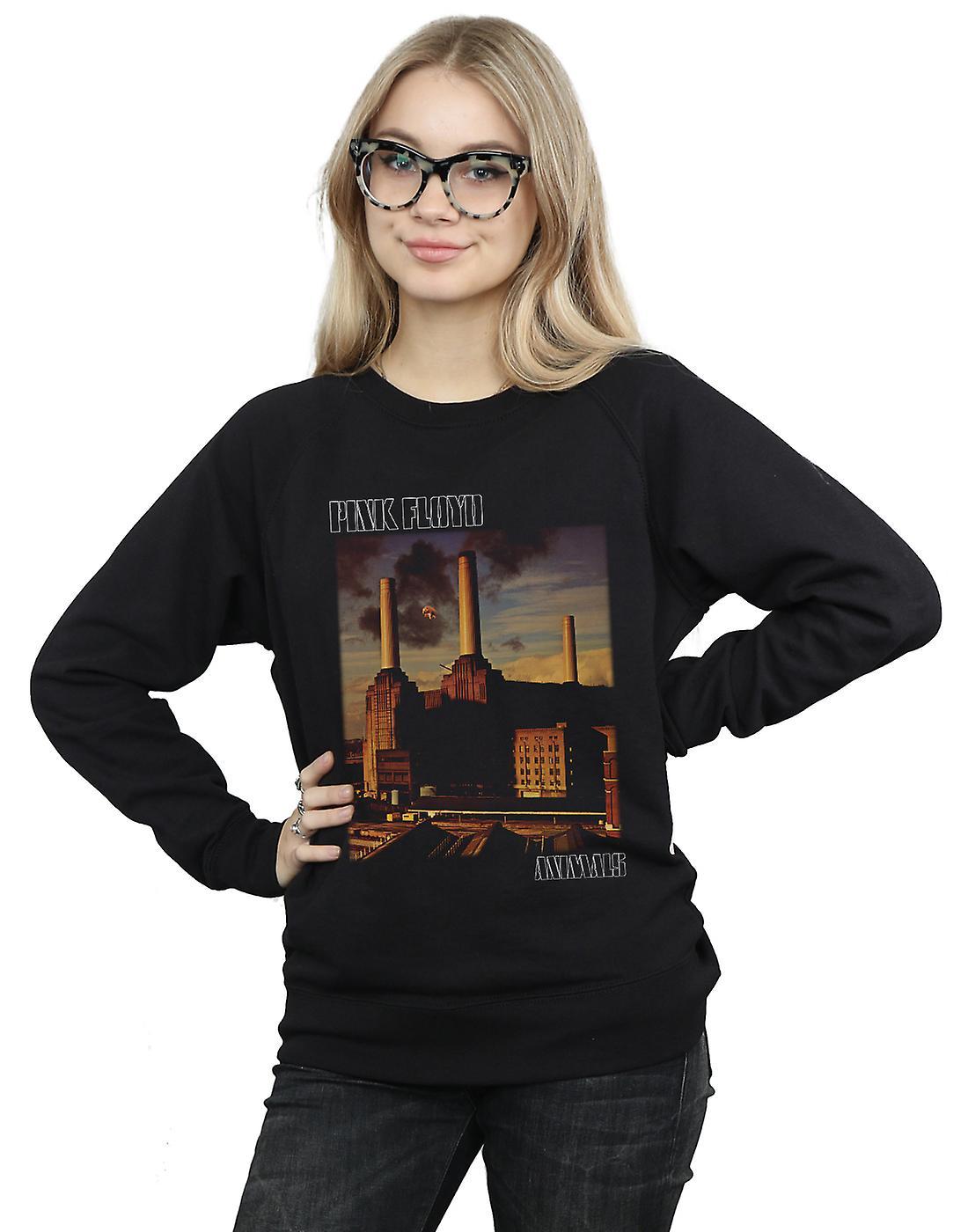 Pink Floyd Women's Animals Poster Sweatshirt