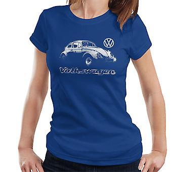 Volkswagen Beetle Spray Paint Women's T-Shirt