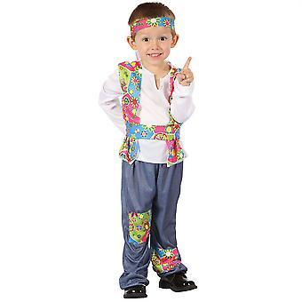 Bnov hippie gutt All-In - en drakt med hodebøyle