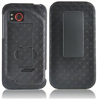 Verizon Kickstand Shell Holster for HTC Droid REZOUND ADR6425