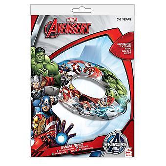 Marvel Avengers Simring opblaasbare 3-6Yr